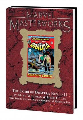 MARVEL MASTERWORKS TOMB DRACULA VOLUME 1 DM VARIANT #314 EDITION HARDCOVER