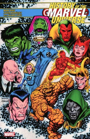 HISTORY OF THE MARVEL UNIVERSE GRAPHIC NOVEL