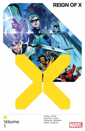 REIGN OF X VOLUME 1 GRAPHIC NOVEL