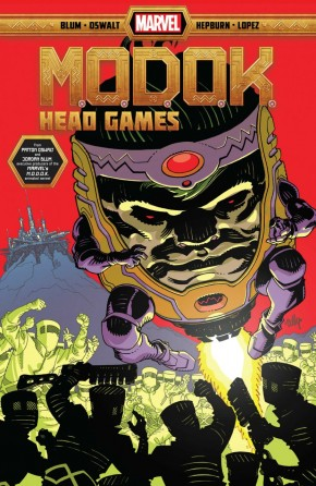 MODOK HEAD GAMES GRAPHIC NOVEL