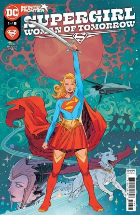 SUPERGIRL WOMAN OF TOMORROW #1 COVER A