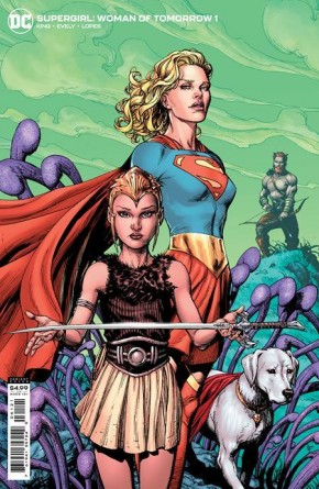 SUPERGIRL WOMAN OF TOMORROW #1 COVER B