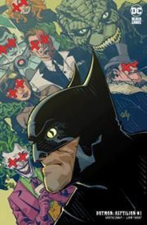BATMAN REPTILIAN #1 CULLY HAMNER VARIANT