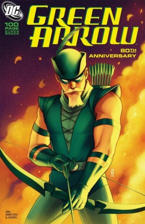 GREEN ARROW 80TH ANNIVERSARY 100 PAGE SUPER SPECTACULAR #1 JEN BARTEL 2000S VARIANT