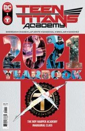 TEEN TITANS ACADEMY 2021 YEARBOOK #1