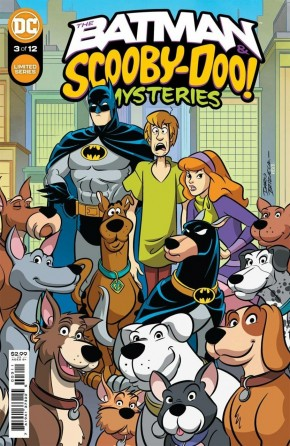 BATMAN AND SCOOBY DOO MYSTERIES #3
