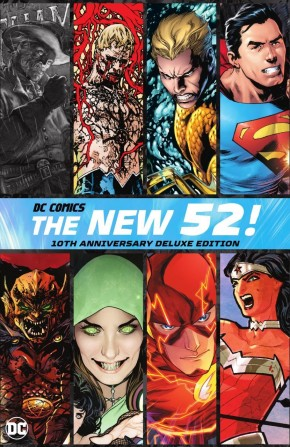 THE NEW 52 10TH ANNIVERSARY DELUXE EDITION HARDCOVER