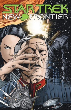 STAR TREK NEW FRONTIER GRAPHIC NOVEL