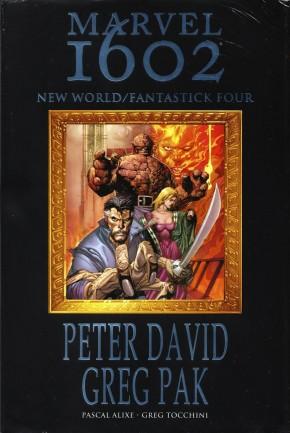 MARVEL 1602 NEW WORLD FANTASTICK FOUR HARDCOVER