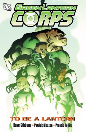 GREEN LANTERN CORPS VOLUME 1 TO BE A LANTERN GRAPHIC NOVEL