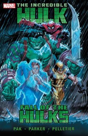 INCREDIBLE HULK VOLUME 2 FALL OF THE HULKS GRAPHIC NOVEL