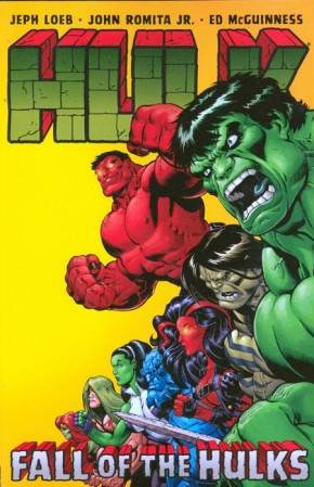 HULK VOLUME 5 FALL OF THE HULKS GRAPHIC NOVEL