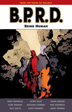 BPRD BEING HUMAN GRAPHIC NOVEL
