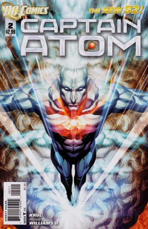 CAPTAIN ATOM #2 (2011 SERIES)
