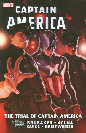 CAPTAIN AMERICA THE TRIAL OF CAPTAIN AMERICA GRAPHIC NOVEL