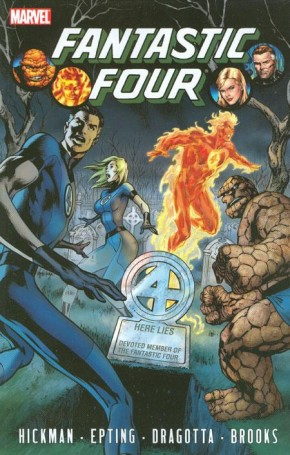 FANTASTIC FOUR BY JONATHAN HICKMAN 4 GRAPHIC NOVEL