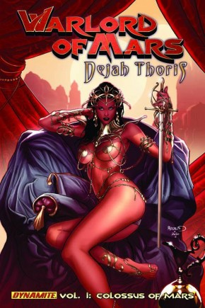 WARLORD OF MARS DEJAH THORIS VOLUME 1 COLOSSUS OF MARS GRAPHIC NOVEL