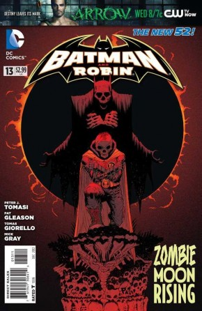 BATMAN AND ROBIN #13 (2011 SERIES)