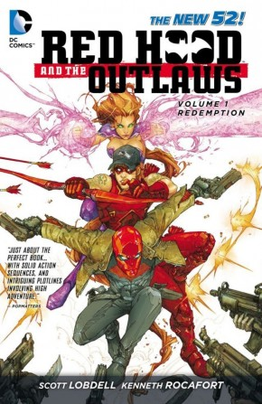 RED HOOD AND THE OUTLAWS VOLUME 1 REDEMPTION GRAPHIC NOVEL