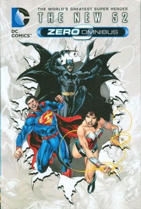 DC COMICS THE NEW 52 ZERO OMNIBUS HARDCOVER