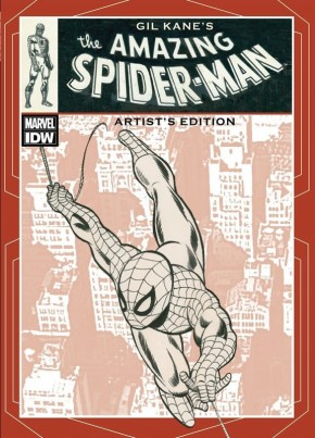 GIL KANE THE AMAZING SPIDER-MAN ARTIST EDITION HARDCOVER