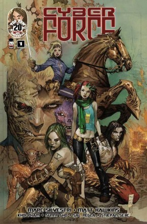 CYBER FORCE #1 (2012 SERIES)