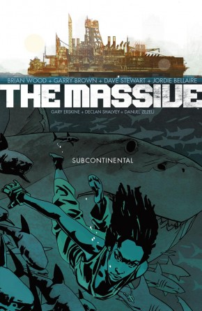 THE MASSIVE VOLUME 2 SUBCONTINENTAL GRAPHIC NOVEL