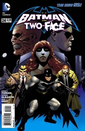 BATMAN AND TWO-FACE #24 (2011 SERIES)