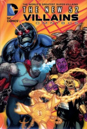 DC COMICS THE NEW 52 VILLAINS OMNIBUS HARDCOVER