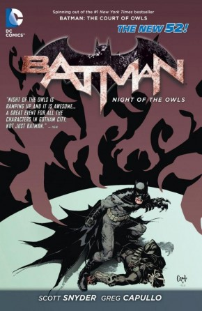 BATMAN THE NIGHT OF THE OWLS GRAPHIC NOVEL