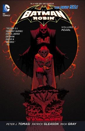 BATMAN AND ROBIN VOLUME 2 PEARL GRAPHIC NOVEL