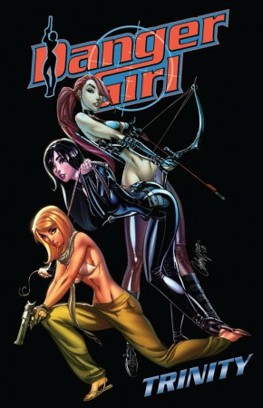 DANGER GIRL TRINITY GRAPHIC NOVEL