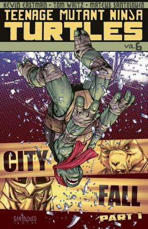 TEENAGE MUTANT NINJA TURTLES VOLUME 6 CITY FALL PART 1 GRAPHIC NOVEL