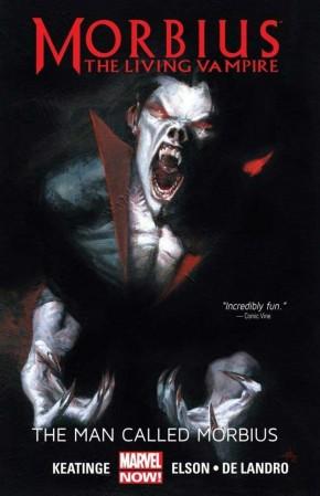 MORBIUS THE LIVING VAMPIRE THE MAN CALLED MORBIUS GRAPHIC NOVEL