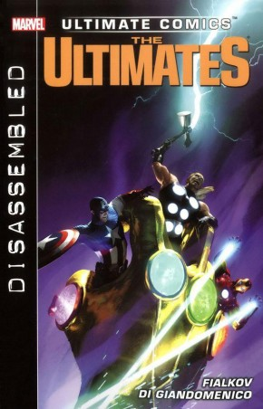 ULTIMATE COMICS ULTIMATES DISASSEMBLED GRAPHIC NOVEL