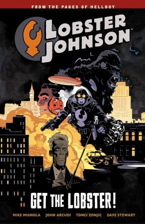 LOBSTER JOHNSON VOLUME 4 GET THE LOBSTER GRAPHIC NOVEL