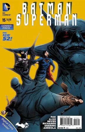 Batman Superman #15 (Combo Edition)