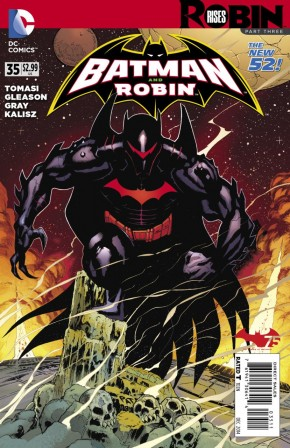BATMAN AND ROBIN #35 (2011 SERIES)