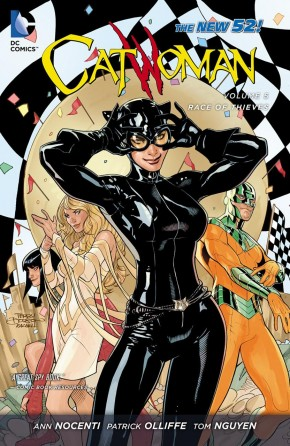 CATWOMAN VOLUME 5 RACE OF THIEVES GRAPHIC NOVEL
