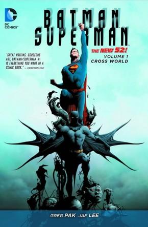 BATMAN SUPERMAN VOLUME 1 CROSS WORLD GRAPHIC NOVEL