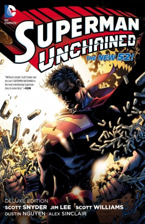 SUPERMAN UNCHAINED DELUXE EDITION HARDCOVER