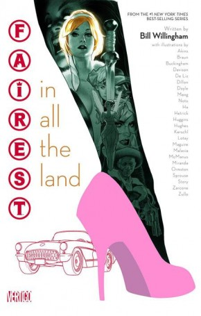 FAIREST IN ALL THE LAND GRAPHIC NOVEL