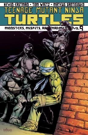 TEENAGE MUTANT NINJA TURTLES VOLUME 9 MONSTERS MISFITS MADMEN GRAPHIC NOVEL