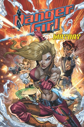 DANGER GIRL MAYDAY GRAPHIC NOVEL
