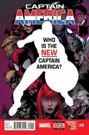 CAPTAIN AMERICA #25 (2012 SERIES)