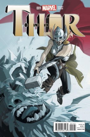 THOR #1 (2014 SERIES) 1 IN 25 STAPLES INCENTIVE VARIANT