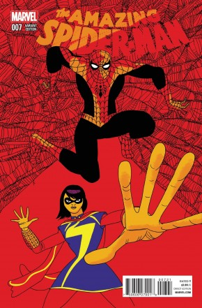 AMAZING SPIDER-MAN #7 (2014 SERIES) PULIDO 1 IN 25 INCENTIVE