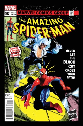 AMAZING SPIDER-MAN #7 (2014 SERIES) HASBRO 1 IN 15 INCENTIVE