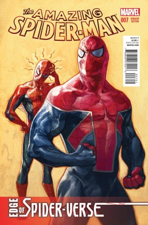 AMAZING SPIDER-MAN #7 (2014 SERIES) CHOO 1 IN 15 INCENTIVE