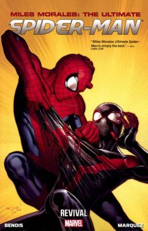 MILES MORALES ULTIMATE SPIDER-MAN VOLUME 1 REVIVAL GRAPHIC NOVEL
